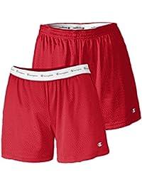 ff35995d2442ae Suchergebnis auf Amazon.de für: rote shorts damen - Champion: Bekleidung