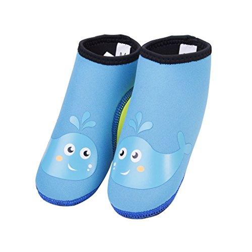 Kinder Wasser Schuhe Beach Schuhe Kleinkinder Barefoot Aqua Socken für Strand und Pool