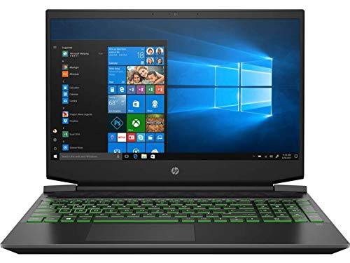 "HP Pavilion 15-ec0010nf PC Portable Gaming 15,6"" FHD Noir (AMD RyzenTM 5 3550H, 8 Go de RAM, SSD 512 Go, carte graphique RadeonTM Vega 8, Windows 10) +AZERTY"