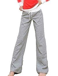 ShiFan Donna Casual Coulisse Pantaloni Yoga Pilates Jogging Sportivi Larghi  Pantalone 5ff7e7bbb0e