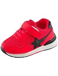 K-Youth® Zapatos LED Niños Niñas Zapatillas Niño Malla Zapatillas para Bebés Zapatos de Bebé Zapatillas de Deporte Transpirables Antideslizante Zapatos