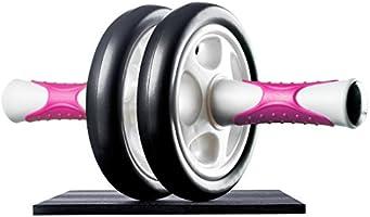 Ultrasport AB Roller Aparato de abdominales, práctico aparato de fitness para entrenar musculatura y espalda, rodillo de...