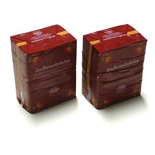 Gudbrandsdalen Queso 2 veces 1 kg Gudbrandsdals del este Geitost Queso de suero Brunost Geitost Gjetost Queso caramelo