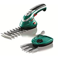 Bosch Isio Cordless Edging and Shrub Shear Set, 3.6 V, 1.5 Ah