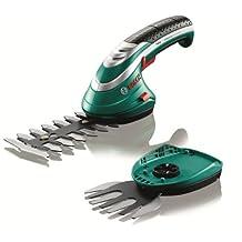 Bosch Isio Cordless Edging and Shrub Shear Set, 600833172, Green, 3.6 V, 1.5 Ah