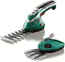 Bosch Isio Cordless Edging and Shrub Shear Set, 600833172, Green, 3.6 V, 1.5 Ah