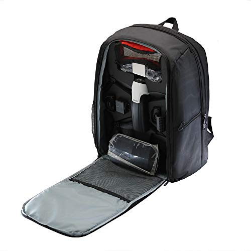 Feixiang waterproof storage bag portable shoulder bag durable handbag borsa a tracolla portatile bag backpack portatile per parrot bebop 2 power fpv drone borsa da trasporto (nero)