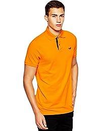 Hollister - Homme - Slim Fit Pop Placket Polo Top Shirt - Manche Courte