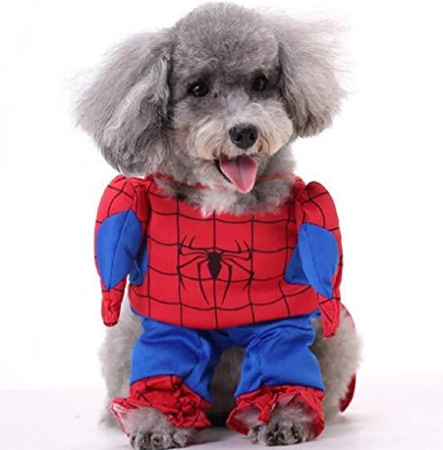 Inception Pro Infinite Spider-Man Kostüm - Verkleidung - Spider-Man - Hund ()