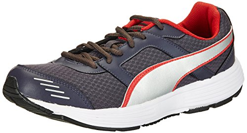 Puma Men's Harbour DP Periscope, Silver High Risk Red Running Shoes - 11 UK/India (46 EU)