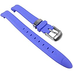 Calypso Replacement Watch Strap PV Strap Blue for Children's Watch K5163/A K5163