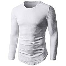 Jerséis para Hombre,BBestseller Camiseta Manga Larga Tekware Jersey 100 Glacier, Hombre Cuello de