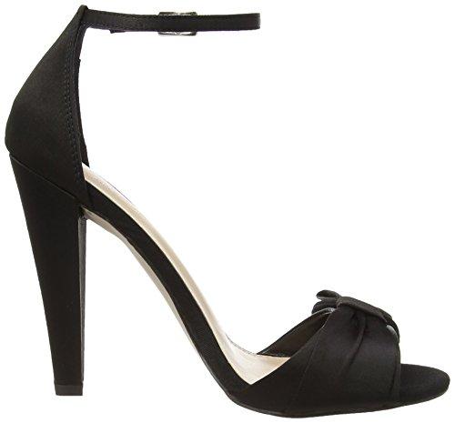 Carvela ouvert Noir à et plateforme talons Chaussures femme bout à Cady Noir avec ABrwfAUq1