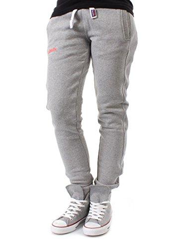Superdry -  Pantaloni sportivi  - Donna grigio XS