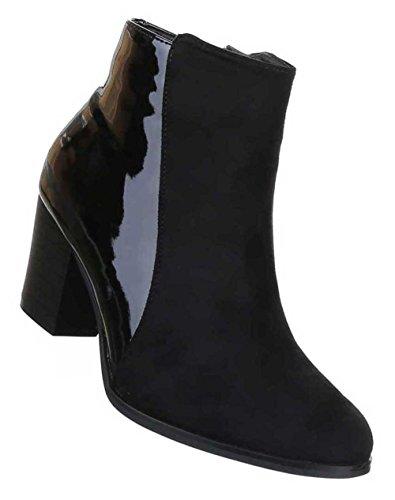 Tornozelo Botas Sapatos Botas Designer De Preto Das Mulheres