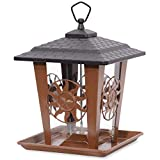 Perky-Pet Comedero para pájaros con tejado y...