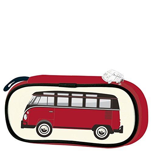 Brisa BUPC01 Trousse VW Combi T1 Classic Bus, Rouge/Beige