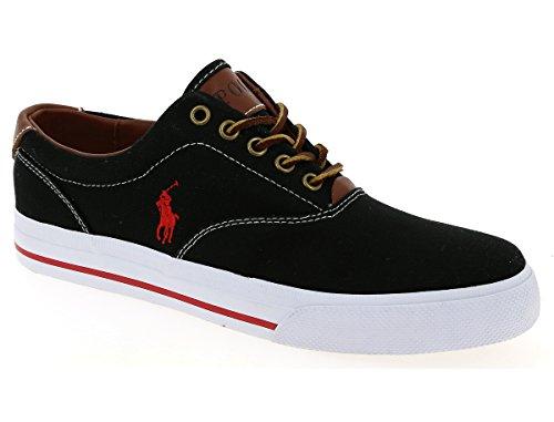 Baskets Homme C2088 Polo Ralph Lauren Vaughn-ne Chaussure Noire Homme Noir