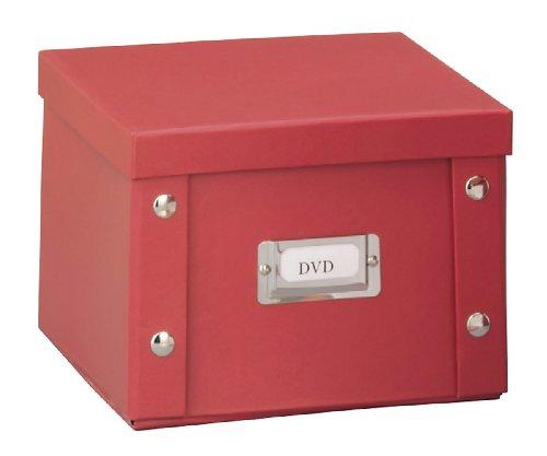 zeller-dvd-box-wood-red-215-x-205-x-15-cm
