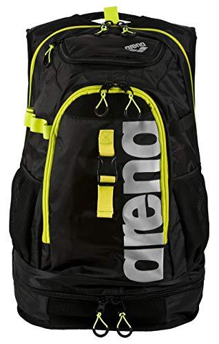 Arena Fastpack 2.1 Zaino, Unisex adulto, Nero (Black-Fluo Yellow-Silver), Taglia Unica