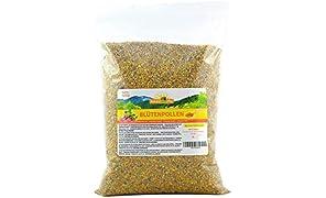 Blütenpollen / Bienenpollen in Premium-Imkerqualität, von ImkerPur, 500 g, komplett rückstandsfrei, süßlich-mild, Ernte 2019 (Konventionell, 500 g)