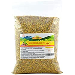 Blütenpollen, 500g von ImkerPur®, komplett rückstandsfrei, süßlich-mild, Ernte 2018