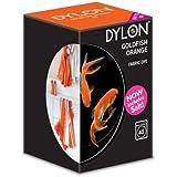 Dylon Machine Colorant 350g Poisson Rouge Orangé, Sel Inclus! Remise en vrac Disponible (1)