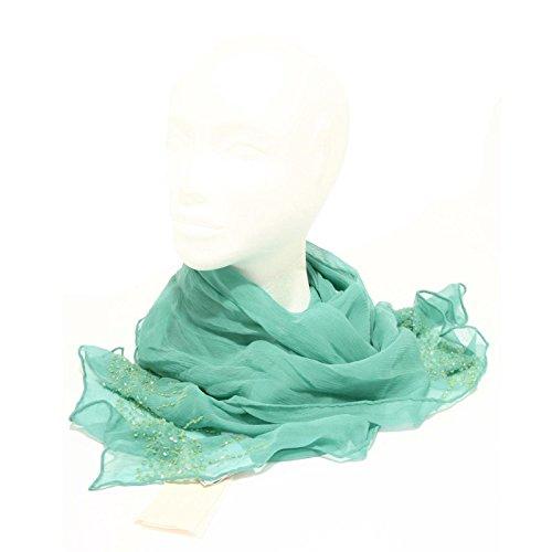 98144 foulard coprispalle PINKO SETA sciarpa donna scarf women [UNICA]