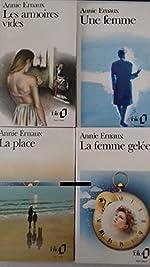Ernaux, coffret 4 volumes de Ernaux