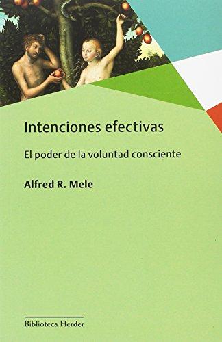 Intenciones efectivas (Biblioteca Herder)