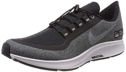timeless design c0032 f3cd2 Nike Damen W Air Zoom Pegasus 35 Rn Shld Fitnessschuhe Mehrfarbig  (Black White