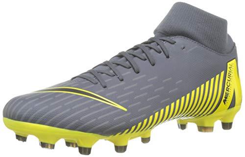 Nike Unisex-Erwachsene Superfly 6 Academy MG Fußballschuhe, Grau Black/Dark Grey 070, 42 EU