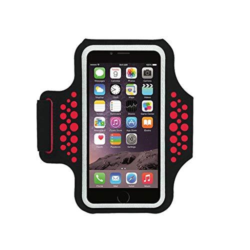 Running Handy Arm Tasche Sport Arm Gesetzt Arm Tasche Arm Tasche für Apple 6 s / 7 Plus ausrüstung männer und Frauen Handgelenk Tasche Arm Band (Color : B)