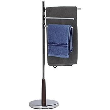 Uniprodo Uni/_Stand/_08 Handtuchst/änder freistehend Standhandtuchhalter Handtuchhalter 3 Stangen beweglich
