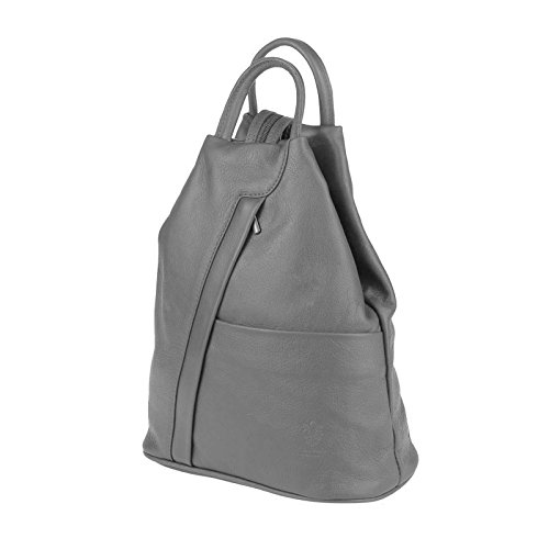 OBC Only-Beautiful-Couture, Borsa a zainetto donna marrone Taupe V1 ca. 25x30x11 cm (BxHxT) Grau