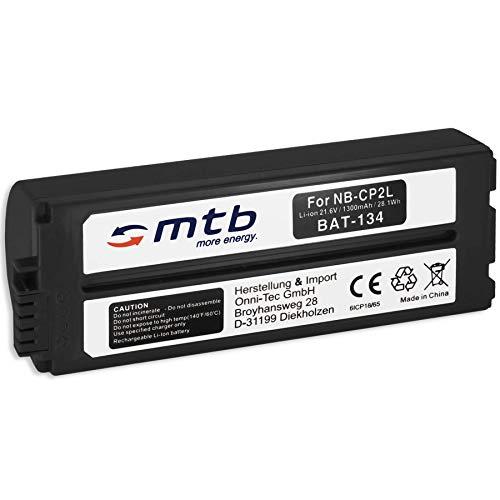 Ersatz-Akku NB-CP2L für Photo Printer Canon Selphy CP100, CP200, CP300, CP400,CP500, CP600, CP710, CP900. - s. Liste