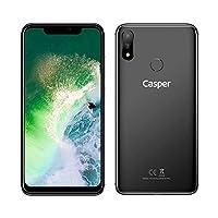 Casper Via A3 Plus 64Gb Oniks Cep Telefonu, Gri