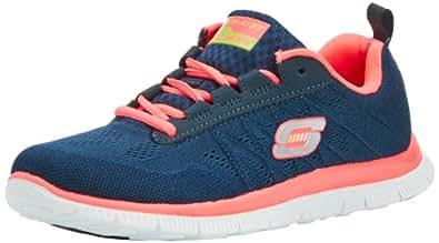 Skechers Flex AppealSweet Spot, Damen Sneakers, Blau (NVHP), 37 EU