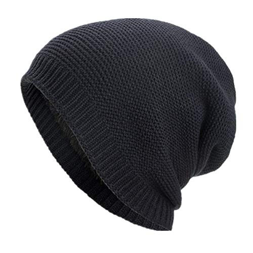 Celucke BeanieHerren Frauen Strickmützen Caps Hüte Warm Ausgebeult Häkeln Häkeln Winter Wolle Stricken Mützen