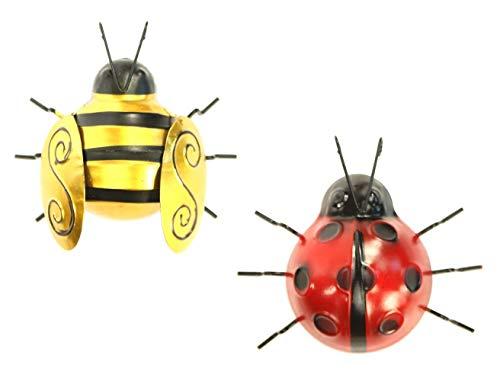 Metal Bumble Bee and Ladybird Wa...