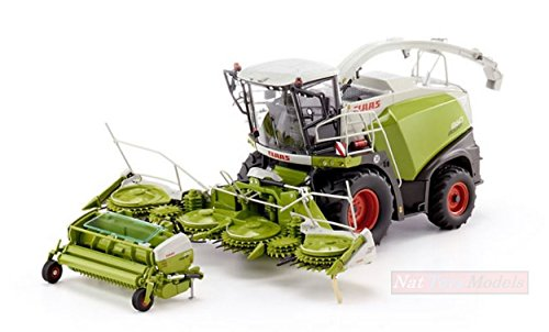 WIKING WK7812 CLAAS JAGUAR 860 FORAGE HARV.WITH ORBIS 750/PICK UP 300 1:32 MODEL