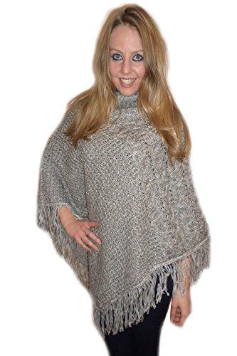 Love Knitwear - Poncho - Cappotto -  donna Grey