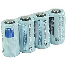 Malloom 4 x CR123A CR123 CR 123A 123 Lithium 16340 batería 3V pilas