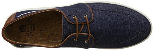 Carlton London Men's Perre Navy Boat Shoes - 8 UK/India (42 EU)