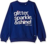 Allen Solly Girls' Sweatshirt (AGSTCRGBO13714_Navy_5-6y)