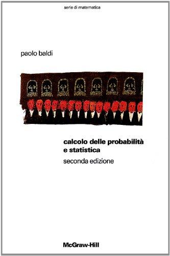 Calcolo delle probabilit e statistica