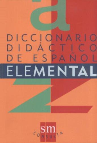 Diccionario Didactico De Español Elemental