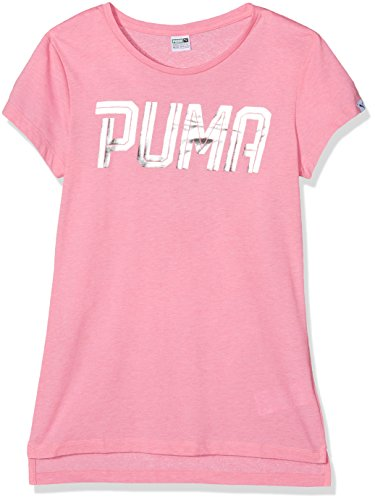 Angel Pink Shirt (Puma Kinder Sportstyle Tee G T-Shirt, Prism Pink, 140)