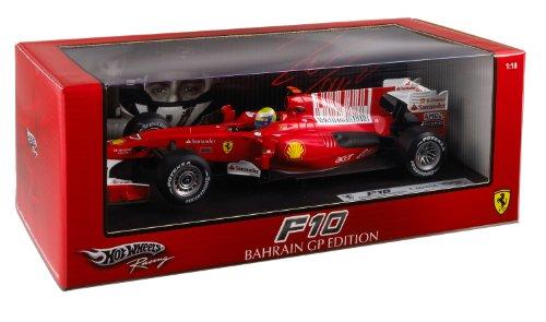 Hotwheels - T6288 - Voiture Miniature - Racing (Mattel) - Ferrari F10 / F1 2010 - Massa - Echelle 1/18