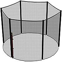 Ampel 24, Red de seguridad de reemplazo para cama elástica 244 cm y 6 barras | barras no incluidas | resistente a los UV | red exterior